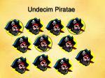 undecim piratae