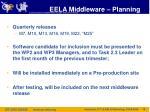 eela middleware planning