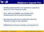 middleware upgrade plan