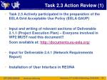 task 2 3 action review 1