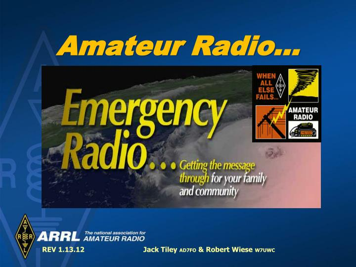 amateur radio n.