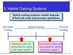 5 hybrid costing systems