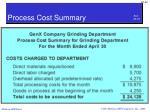 process cost summary2