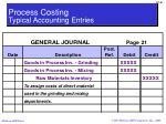 process costing typical accounting entries1