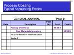 process costing typical accounting entries2
