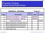 process costing typical accounting entries7