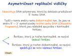 asymetri nost replika n vidli ky3