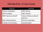 oktoberfest a case study3