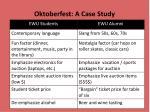 oktoberfest a case study5
