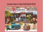 www ewu edu oktoberfest