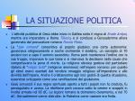 la situazione politica1