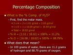 percentage composition2