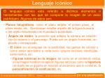 lenguaje ic nico