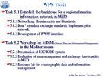 wp5 tasks