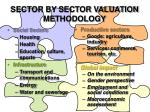 sector by sector valuation methodology