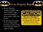 private property rights1