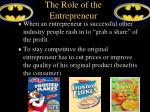 the role of the entrepreneur3