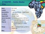 ethiopi addis abeba kim