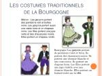 les costumes traditionnels de la bourgogne
