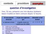 question d investigation