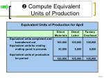 compute equivalent units of production