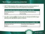 technologies proactive protection5