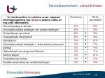 schoolkenmerken schoolklimaat