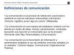 definiciones de comunicaci n