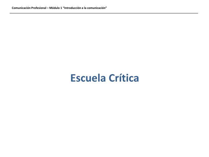 Escuela Cr