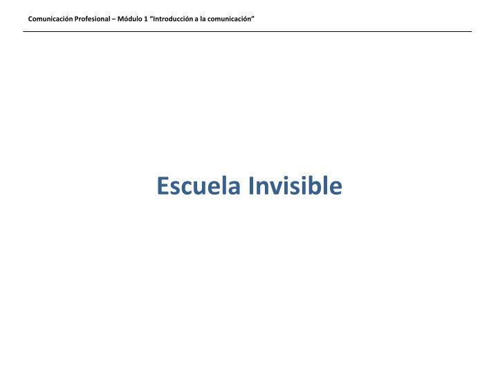 Escuela Invisible