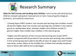 research summary2