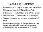 scheduling athletics2