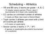 scheduling athletics3