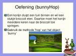 oefening bunnyhop
