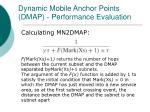 dynamic mobile anchor points dmap performance evaluation1