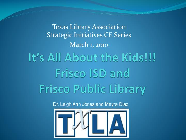 it s all about the kids frisco isd and frisco public library n.