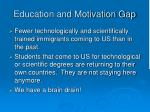 education and motivation gap5