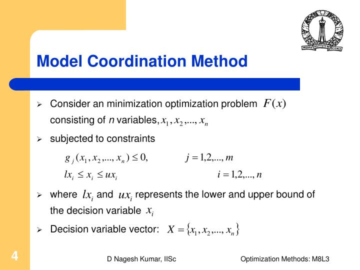 Model Coordination Method