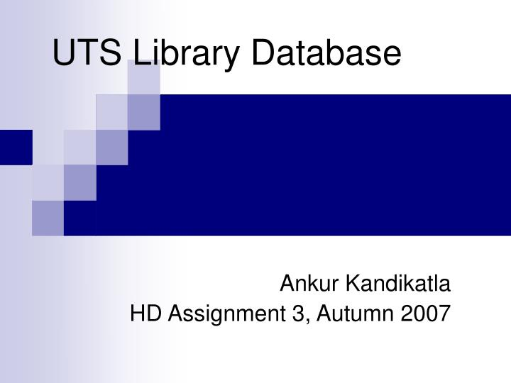 uts library database n.