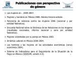 publicaciones con perspectiva de g nero