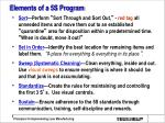 elements of a 5s program
