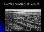 german cemetery at bethune