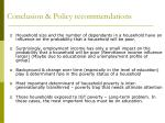conclusion policy recommendations