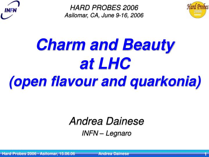 charm and beauty at lhc open flavour and quarkonia n.