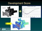 development score