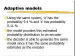 adaptive models5