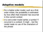 adaptive models6