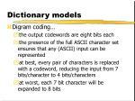 dictionary models2