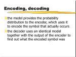 encoding decoding