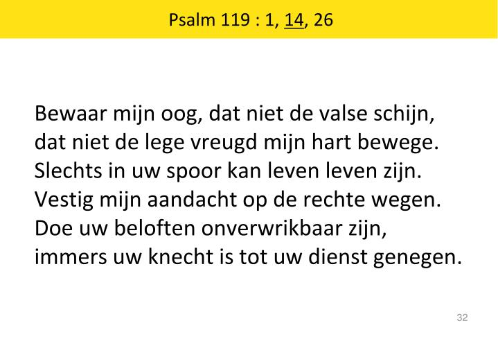 Psalm 119 : 1,
